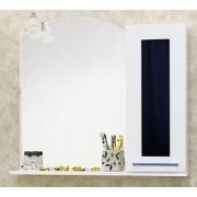 Sanflor Зеркало-шкаф Валлетта 80 черное стекло R