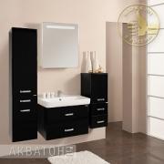 Мебель для ванной Акватон Америна 70 чёрная