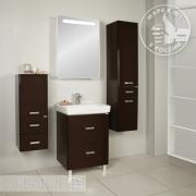 Мебель для ванной Акватон Америна Н 60 темно-коричневая