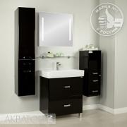 Мебель для ванной Акватон Америна Н 80 черная