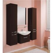 Мебель для ванной Акватон Ария 65 темно-коричневая