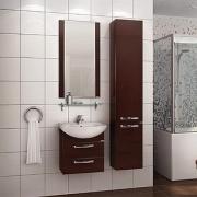 Мебель для ванной Акватон Ария М 50 темно-коричневая
