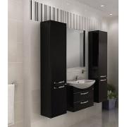 Мебель для ванной Акватон Ария М 65 черный глянец