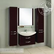 Мебель для ванной Акватон Ария М 80 темно-коричневая