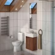Мебель для ванной Акватон Эклипс темный эбони