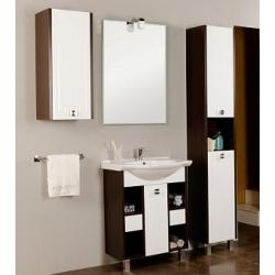 Мебель для ванной Акватон Крит 65 МН с 2 ящиками венге
