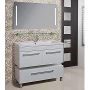 Мебель для ванной Акватон Мадрид 100 белая с 2 ящиками