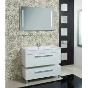 Мебель для ванной Акватон Мадрид 100 белая с ящиком