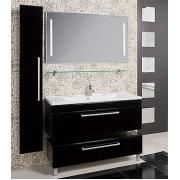 Мебель для ванной Акватон Мадрид 100 черная с ящиком