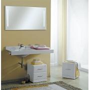 Мебель для ванной Акватон Отель 120 левая