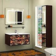 Мебель для ванной Акватон Римини 100 янтарь