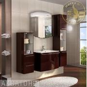Мебель для ванной Акватон Севилья 80 гранат