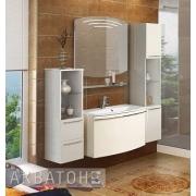 Мебель для ванной Акватон Севилья 95 белый жемчуг