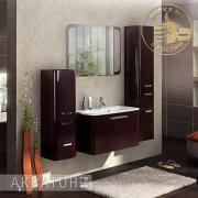 Мебель для ванной Акватон Валенсия 90 гранат