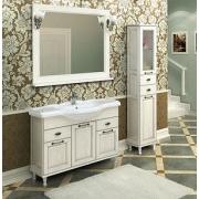 Мебель для ванной Акватон Жерона 105 белое серебро