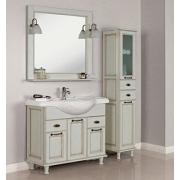 Мебель для ванной Акватон Жерона 105 белое золото