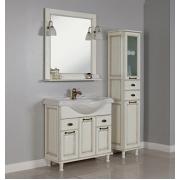 Мебель для ванной Акватон Жерона 85 белое золото