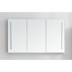 BelBagno Зеркало-шкаф SPC-3A-DL-BL-1200