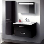 Мебель для ванной Belux Марсель 80 черная
