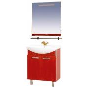 Misty Мебель для ванной Джулия 75 красная краколет