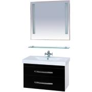 Misty Мебель для ванной Эмилия 90 подвесная черная