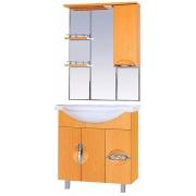 Misty Мебель для ванной Глория 75 R бук