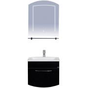 Misty Мебель для ванной Корсика 70 черный рояль
