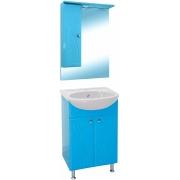 Misty Мебель для ванной Мисти 50 L голубая