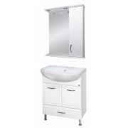 Misty Мебель для ванной Уют 60 R с нижним ящиком белая