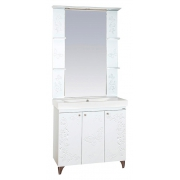 Misty Мебель для ванной Вирджиния Бабочка 90 белая