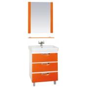 Misty Мебель для ванной Жасмин 60 оранжевый, пленка