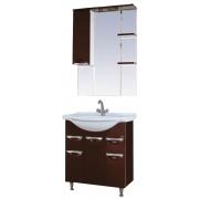 Misty Мебель для ванной Жасмин 76 коричневая