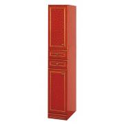 Misty Пенал для ванной Fresko 35 R красный краколет