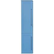 Misty Пенал для ванной Марта 35 голубой L с б/к