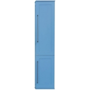 Misty Пенал для ванной Марта 35 голубой R с б/к