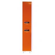 Misty Пенал для ванной Жасмин 35 L оранжевый с б/к