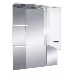 Misty Зеркальный шкаф Дрея 75 R