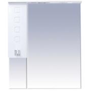 Misty Зеркальный шкаф Эллада 90 белый L