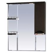 Misty Зеркальный шкаф Глория 85 R венге