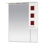 Misty Зеркальный шкаф Кармен 80 R красный