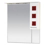 Misty Зеркальный шкаф Кармен 90 R красный