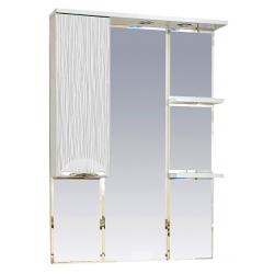 Misty Зеркальный шкаф Лорд 75 L белый