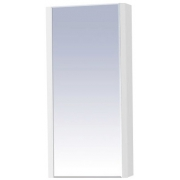 Misty Зеркальный шкаф Мини 40 белый