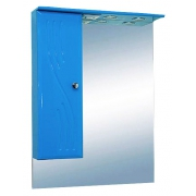 Misty Зеркальный шкаф Мисти 60 L голубой