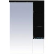 Misty Зеркальный шкаф Петра 65 черный R