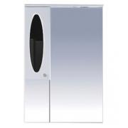 Misty Зеркальный шкаф Сидней 65 L черный