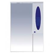 Misty Зеркальный шкаф Сидней 65 R синий