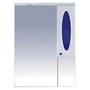 Misty Зеркальный шкаф Сидней 75 R синий