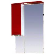 Misty Зеркальный шкаф Жасмин 65 L красный, пленка