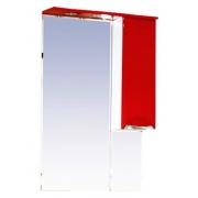 Misty Зеркальный шкаф Жасмин 65 R красный, пленка